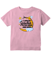 I Love My Grandma To The Moon And Back Unisex Toddler T-Shirt