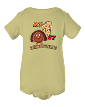 My 1st Thanksgiving Baby Bodysuit Onesie