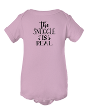 The Snuggle Is Real Baby Onesie Bodysuit
