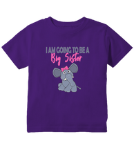 I am Going To Be a Big Sister Pregnancy Reveal Toddler Shirt