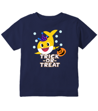 Baby Shark Halloween Trick-Or-Treat Toddler T-Shirt