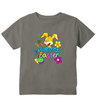 Happy Easter Colorful Bunny Toddler T-Shirt