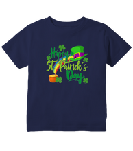 Colorful Happy ST. Patricks Day Toddler T-Shirt