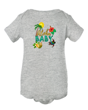 Aloha Baby Hawaiian Beach Themed Baby Onesie Bodysuit