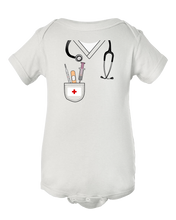 Doctor Nurse Halloween Baby Costume Onesie Bodysuit