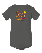 Happy Mother's Day Colorful Baby Onesie Bpdysuit