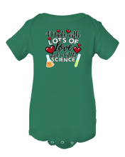 Made With Lots Of Love And A Little Science IVF Baby Onesie Bodysuit