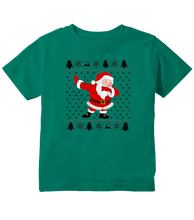 Dabbing Santa Ugly Sweater Christmas Toddler T-Shirt