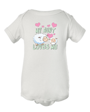 My Aunt Loves Me Little Sheep Baby Onesie Bodysuit