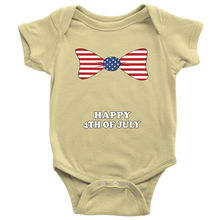 Unisex Baby Happy Fourth of July Infant Creeper Onesie