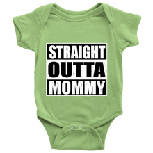Straight Outta Mommy Bodysuit. Straight Outta Mommy baby boy/girl onesie