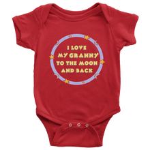 I Love My Granny To The Moon and Back Unisex Baby Onesie,