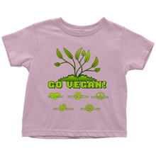 Go Vegan Toddler T-Shirt