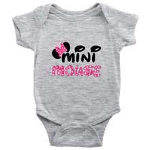 Pink Bow Mini Mouse Infant Bodysuit Baby Romper onesie