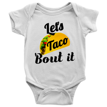 Unisex Baby Let's Taco 'Bout it Baby Onesie