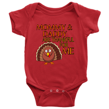 Mommy & Daddy Are Thankful Baby  Onesie