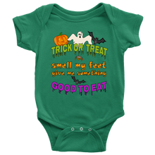 Trick Or Treat Halloween Baby Onesie