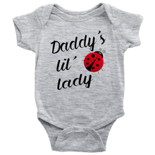 Baby Girls Daddy's Lil' Lady Infant Creeper Baby Onesie