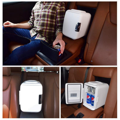 Ultra Quiet Portable Mini Fridge For Home, Car, & Travel - FreshShade