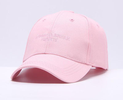 Words Printed Baseball Cap - Fresh Shade