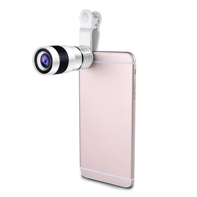 8x HD Optical Zoom Phone Camera Telescope - FreshShade