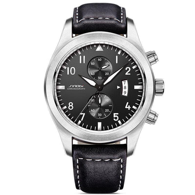 Men's Classic Leather Chronograph - FreshShade