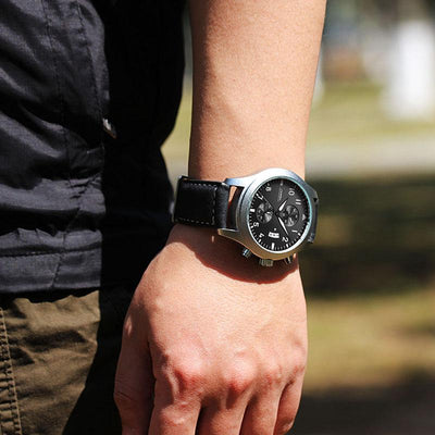 Men's Classic Leather Chronograph - Fresh Shade