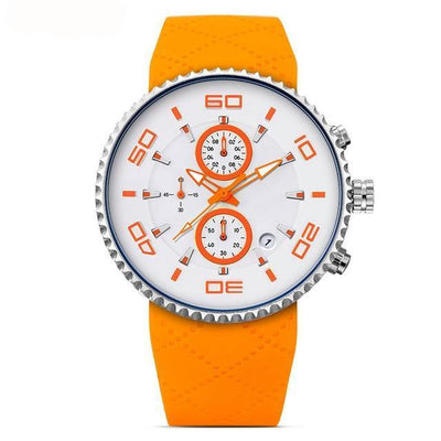 Waterproof Silicone Band Sport Chronograph & Stopwatch In 3 Colors - FreshShade