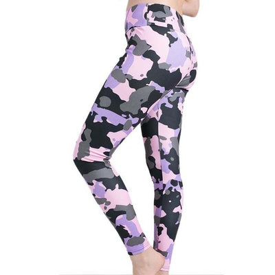 Multicolor Camo Leggings - FreshShade