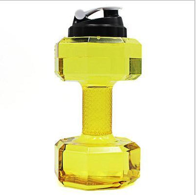 2.2L Dumbbell Shaped Water Bottle - Fresh Shade