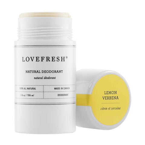 Natural Cream Deodorant Lemon Verbana