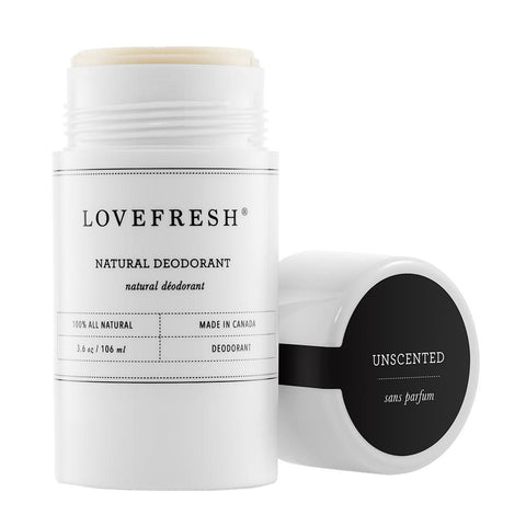 Natural Cream Deodorant, Unscented