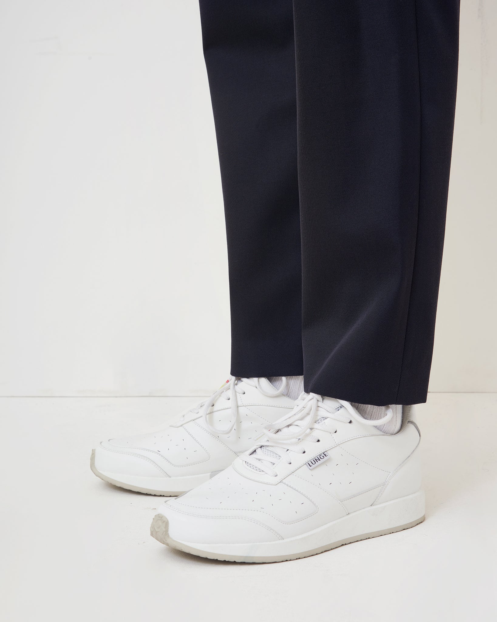 Wool Kersey Easy Pants