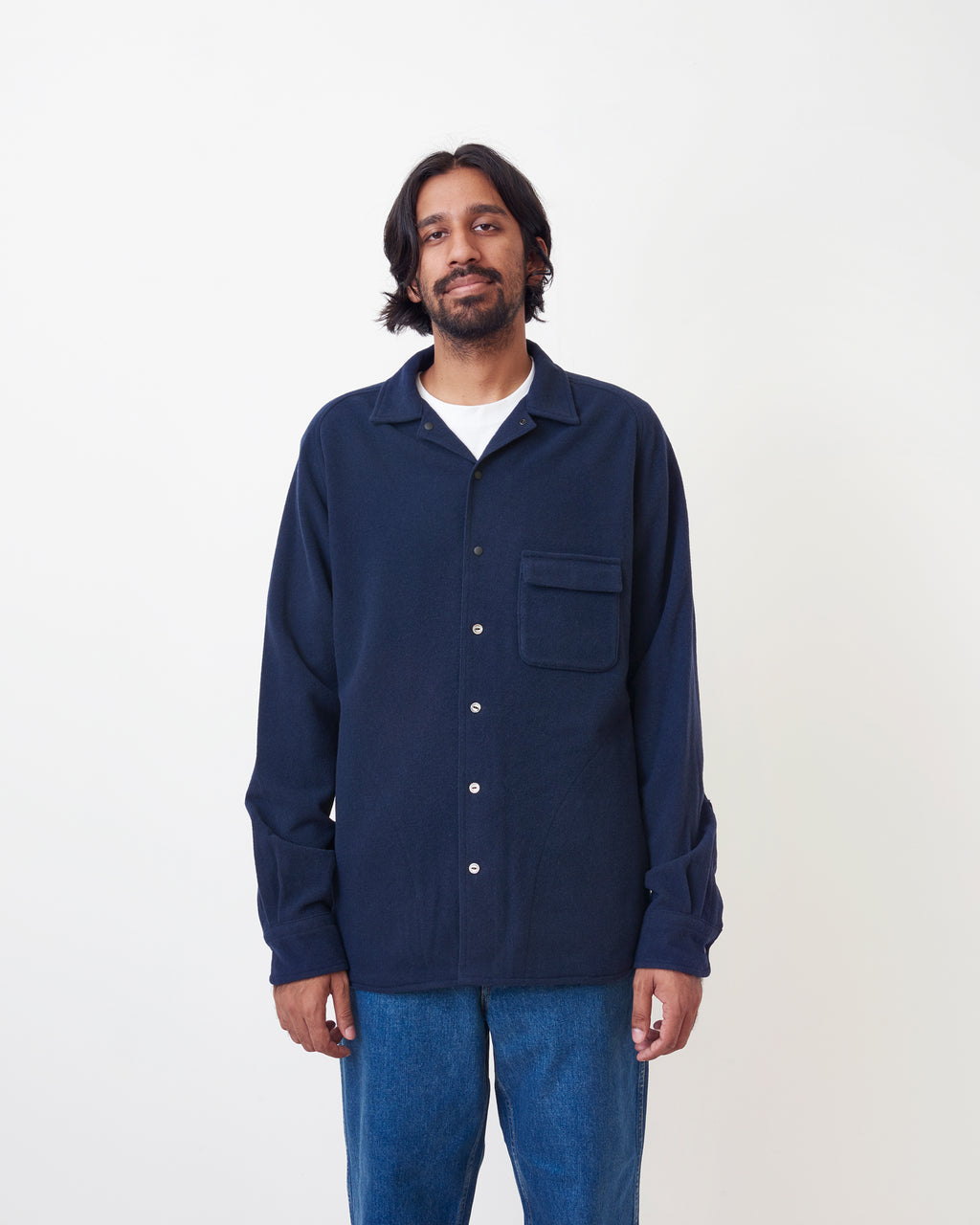 Coverall Technical Wool Shirt