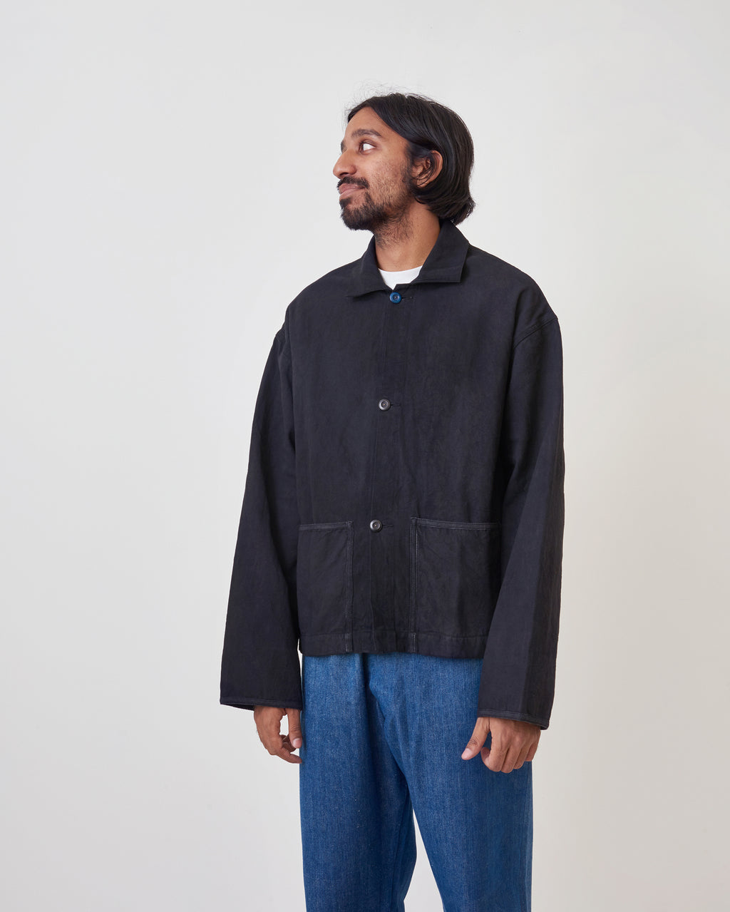 Short-on-Time Canvas Jacket