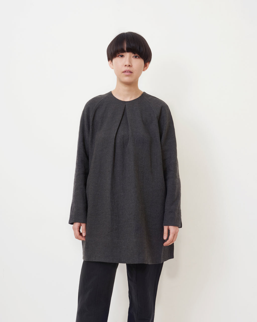 Wool and Linen Smock Top