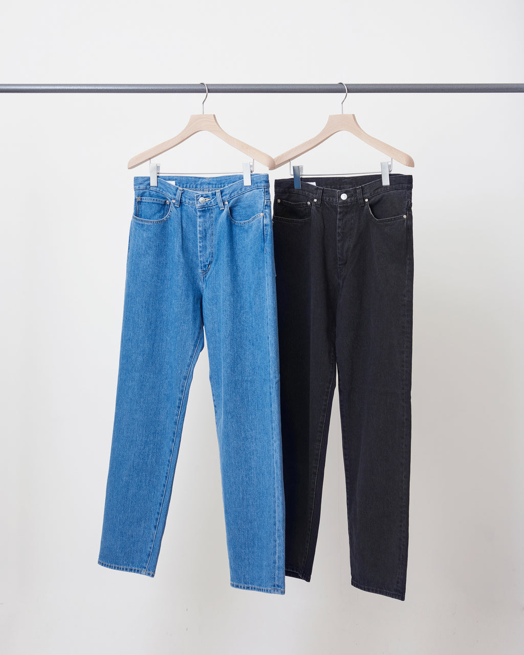 Straight Denim Pants