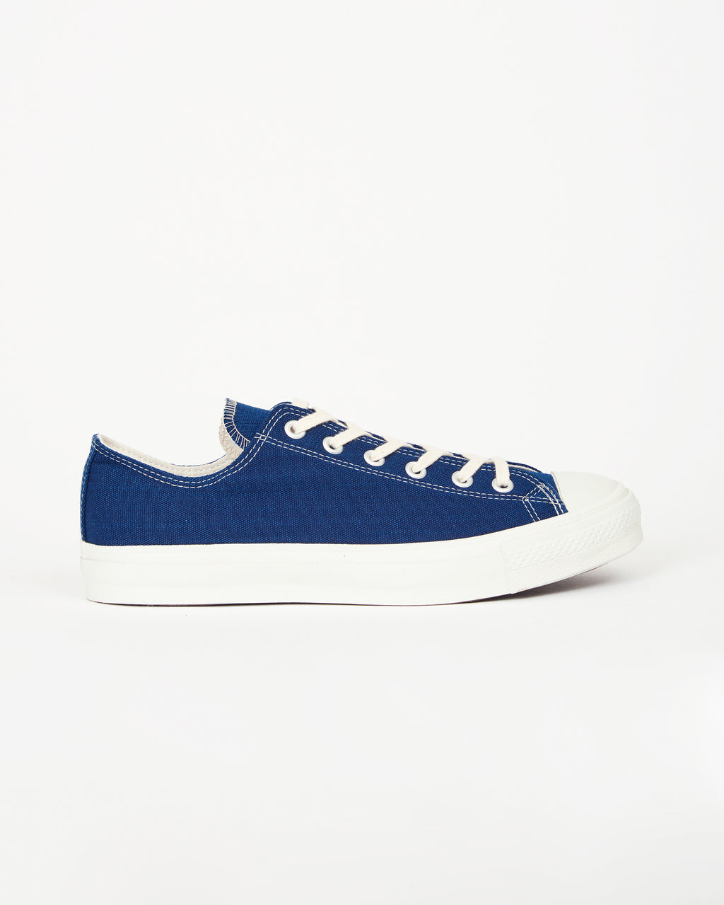 Canvas Basket Shoes – Navy