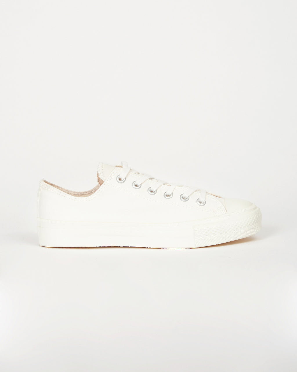Gaba Basket Shoes – White