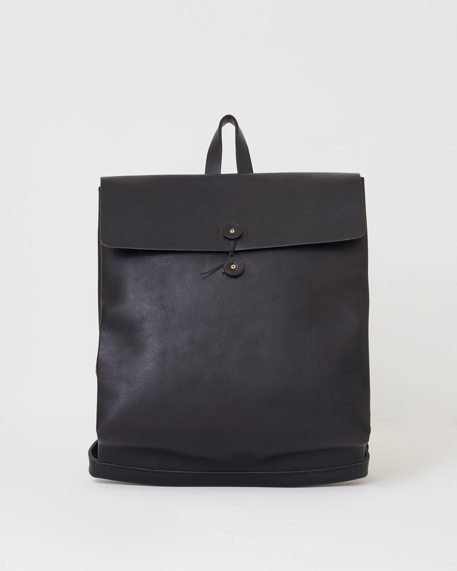 Leather Postal Backpack