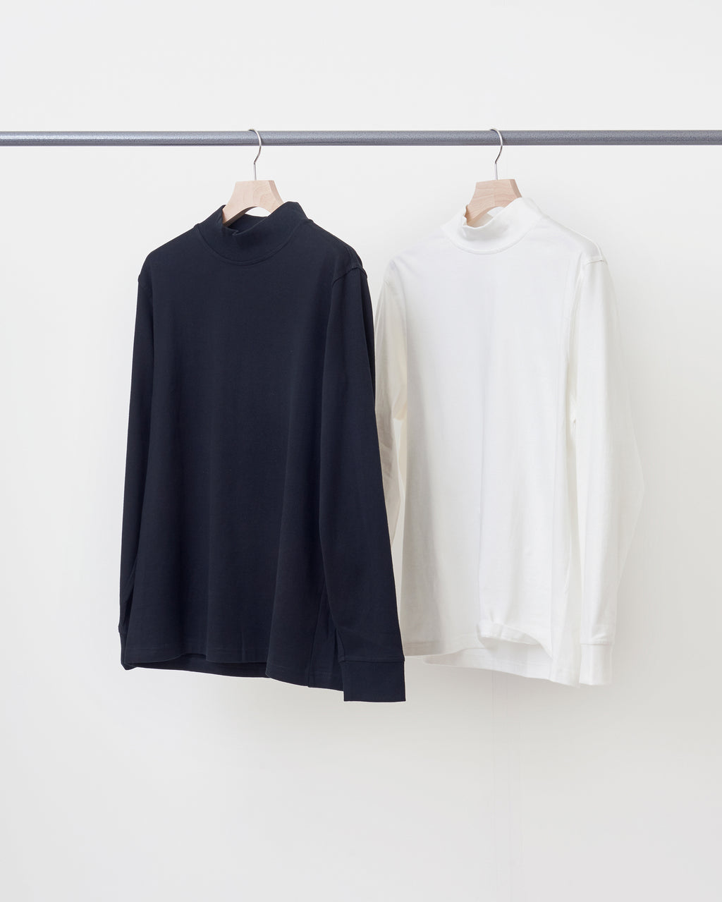 LS Mock Neck T-Shirt