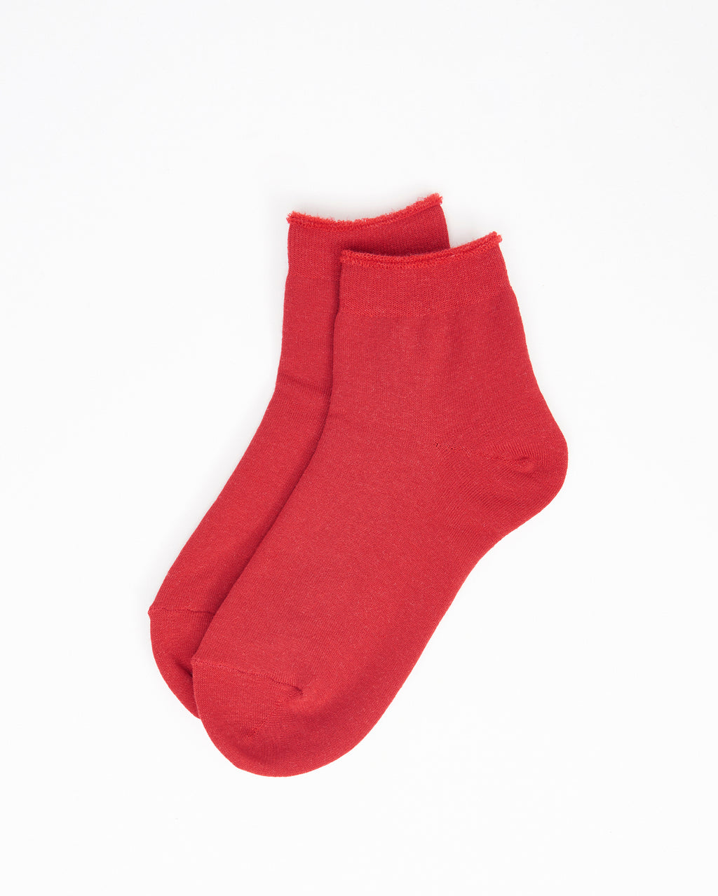 City Socks Short – Red