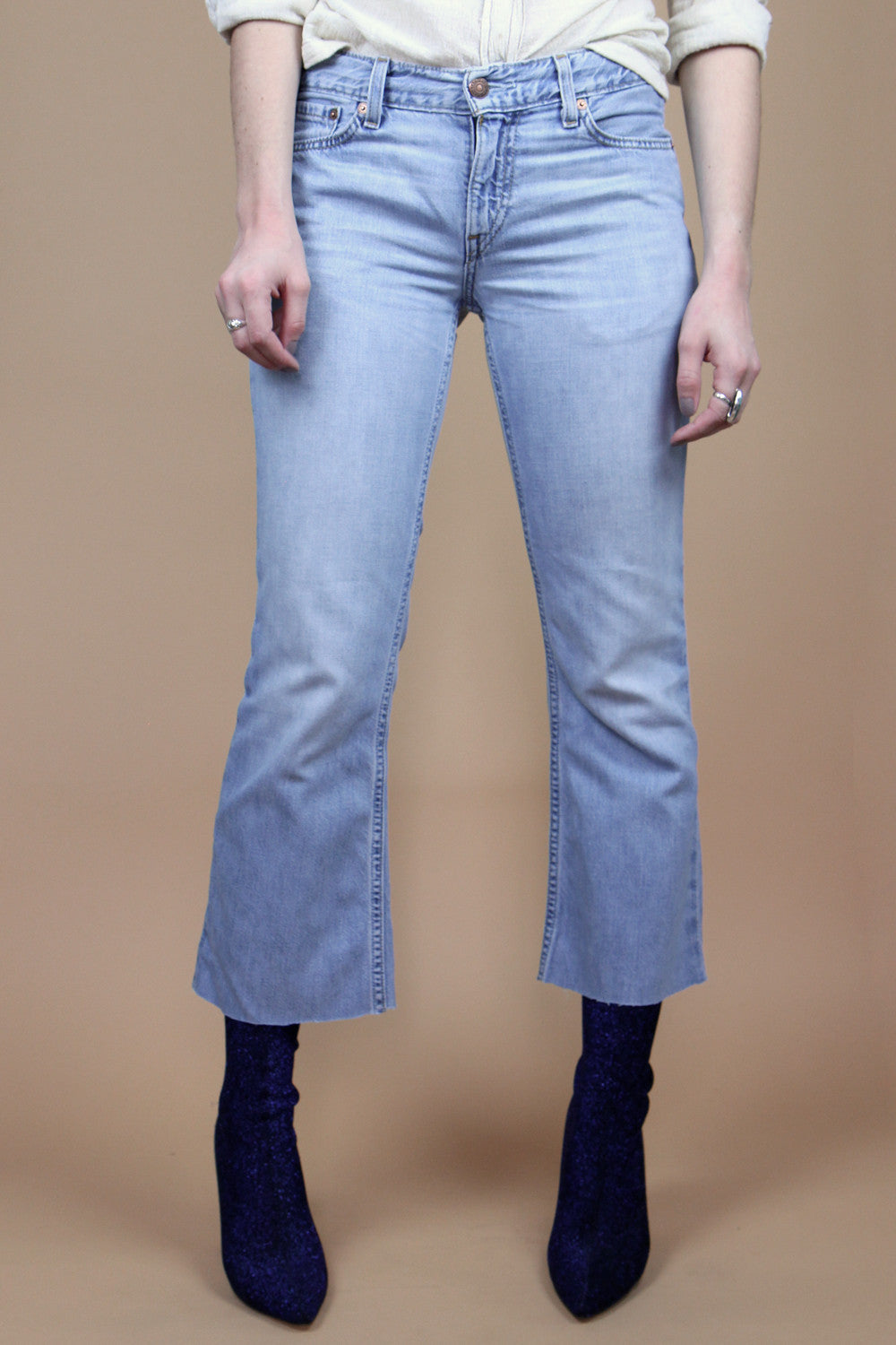 Levi's 529 Cropped Flare 27X25
