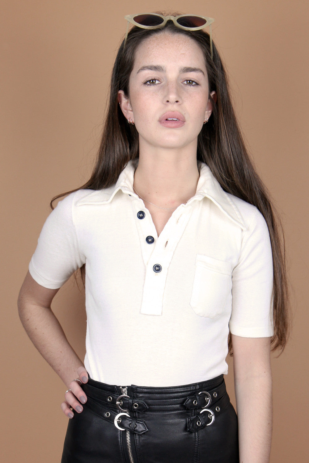 Original Dead Stock 1970s Polo Neck