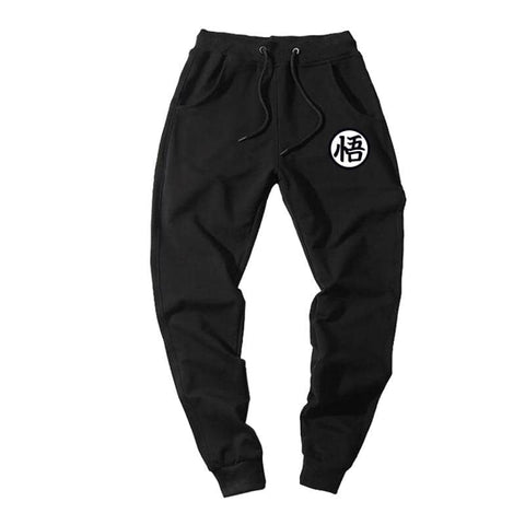 Dragon Joggers Black Workout Pants Version 2 - FitKing