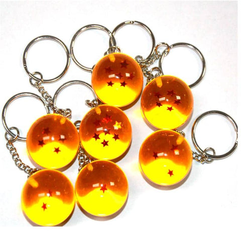 Dragon Ball Z Keychain - The Dragon Balls
