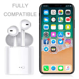 FitK Airbuds Wireless Bluetooth 5.0 Earbuds With Charging Box For Smartphones - Superhero Gym Gear