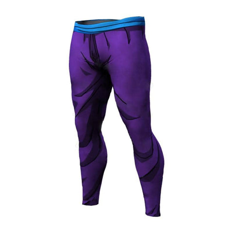 Dragon Warrior Purple Men's Leggings - Superhero Gym Gear