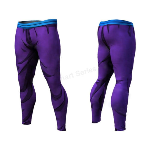Dragon Purple Men's Leggings - Superhero Gym Gear