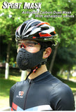 Protective Face Mask for Airborne Contaminants/Dust/Biking N99 Sport Face Mask With Filter Activated Carbon - Superhero Gym Gear